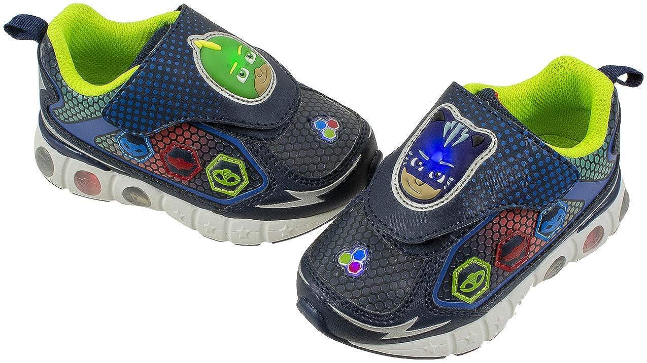 PJ Masks Toddler Light-Up Athletic Shoe (10)