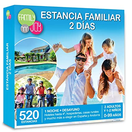 NJoy Experiences Cofre DE EXPERIENCIAS Estancia Familiar 2 ...