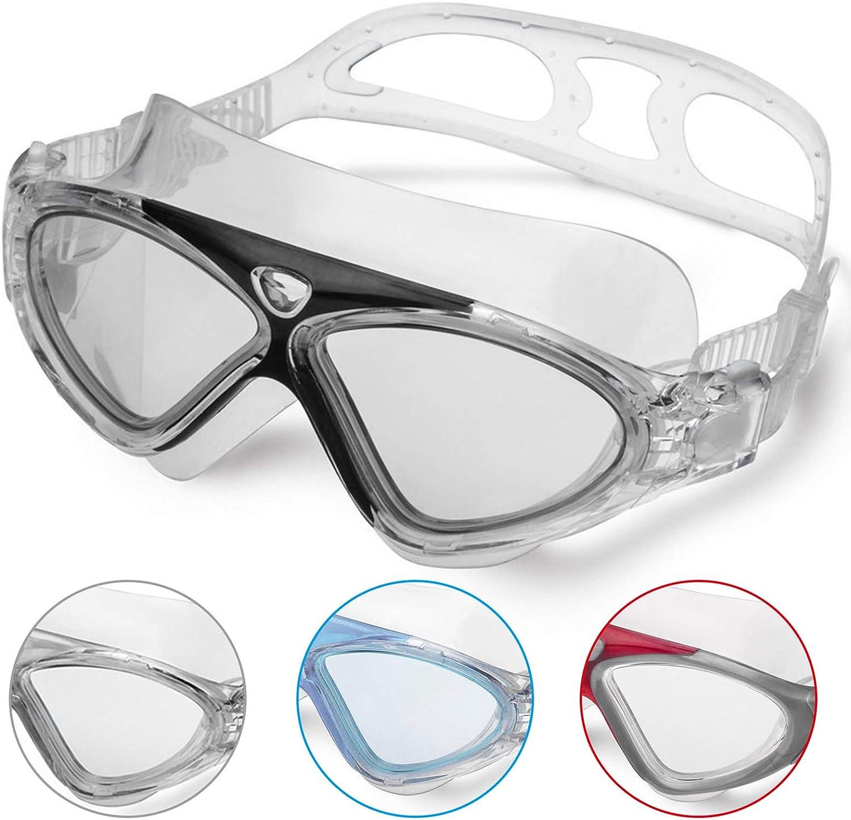 Winline Gafas de Natación Profesional Anti Niebla Hermético Ajustable Gafas de Natación para Adultos para Hombres Y Mujeres