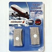 Masterplas MP1055 Travel Sickness Wristband 2 Pieces Pair Travel Touring