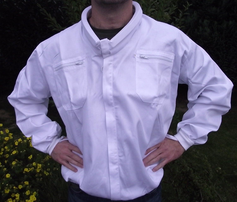 Top Imkerbekleidung 58 //60 Imkerjacke mit Wulstkragen in der Gr/ö/ße XL
