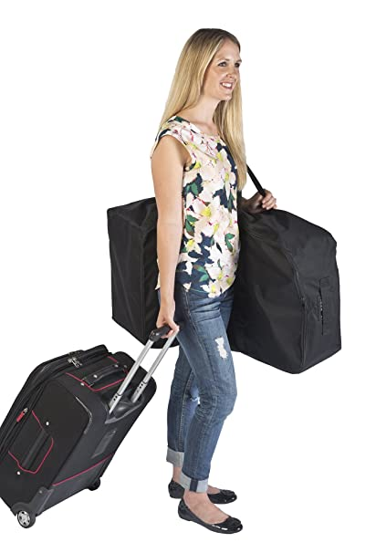 J L Childress Universal Side Carry Car Seat Travel Bag Black One Size