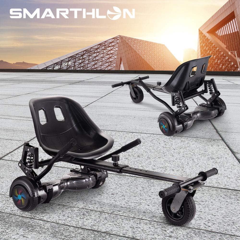 Smarthlon Hoverkart Vont Scooter de si/ège de vol Stationnaire de Kart A5 Conception dabsorption des chocs Compatible avec 6,5 10 Pouces 8