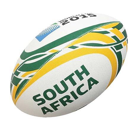 Gilbert RWC 2015 South Africa - Balón de Rugby (tamaño 4), diseño ...