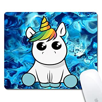 Cute Unicorn Extended Ergonomique Gaming Mouse Pad Rectangle Tapis