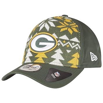 f3ea5d44a New Era Christmas Jumper Trucker Cap - NFL Green Bay Packers: Amazon ...
