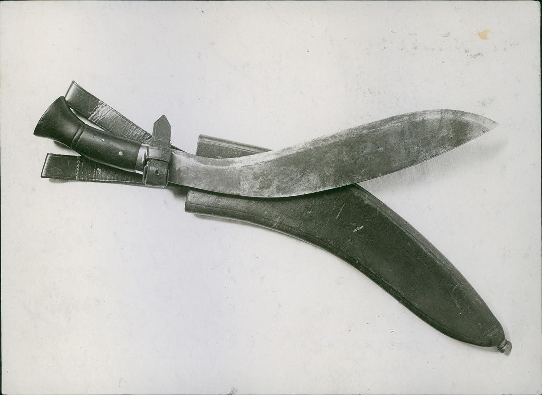 Reimpresión imagen de Indian cuchillo de Gurkha Kukri) con ...