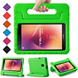 BMOUO Samsung Galaxy Tab A 8.0 2017 Kids Case - EVA ShockProof Light Weight Handle Stand Kids Case Cover for Samsung Galaxy Tab A 8-inch 2017 Release - Blue