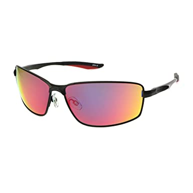3b05c6e9d695 Image Unavailable. Image not available for. Color: Reebok Men's Rbs 5 Blk  Red Mir No Polarization Rectangular Prescription Eyewear Frame Black ...