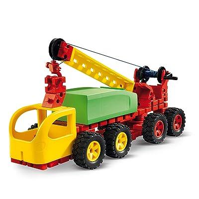 Fischertechnik Jumbo Starter - Divertido y Educativo Juego de Construcción de Vehículos, con 16 Modelos: Juguetes y juegos