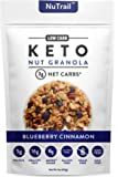 NuTrail™ - Keto Blueberry Nut Granola Healthy Breakfast Cereal - Low Carb Snacks & Food - 3g Net Carbs - Almonds, Pecans…