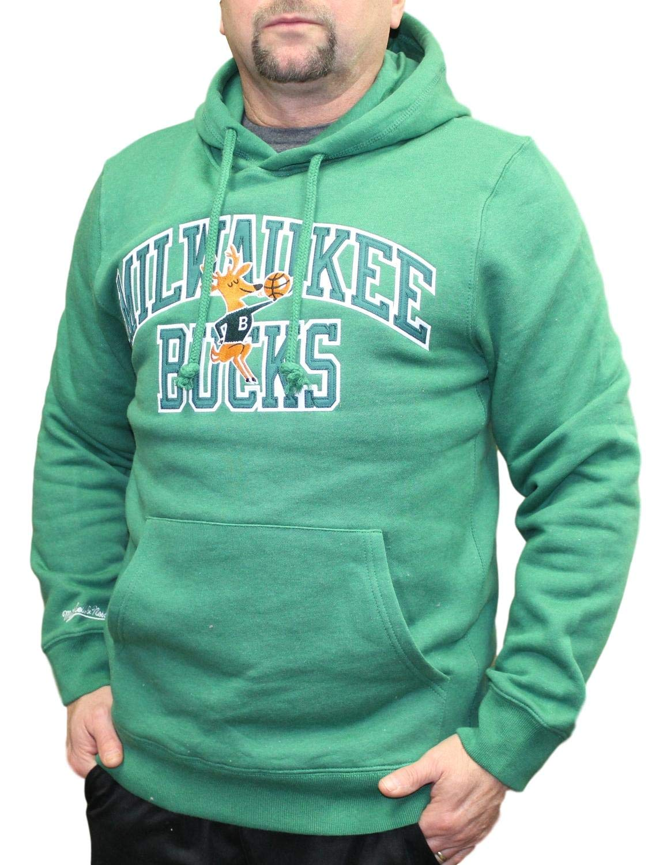 new arrival 5f0db 73698 Amazon.com : Mitchell & Ness Milwaukee Bucks NBA Playoff Win ...