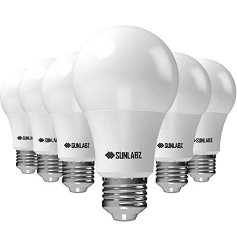 sunlabz led light bulbs a19 softwhite 60