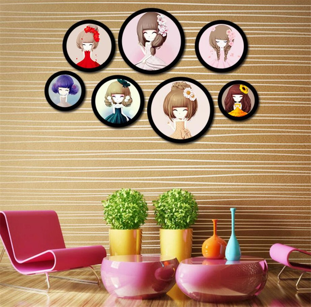 GZQ Picture Frame Wall Hanging Photo Frame for Wedding Family Baby Landscape Pictures Home Living Room Decoration Christmas Gift (14 Inch)