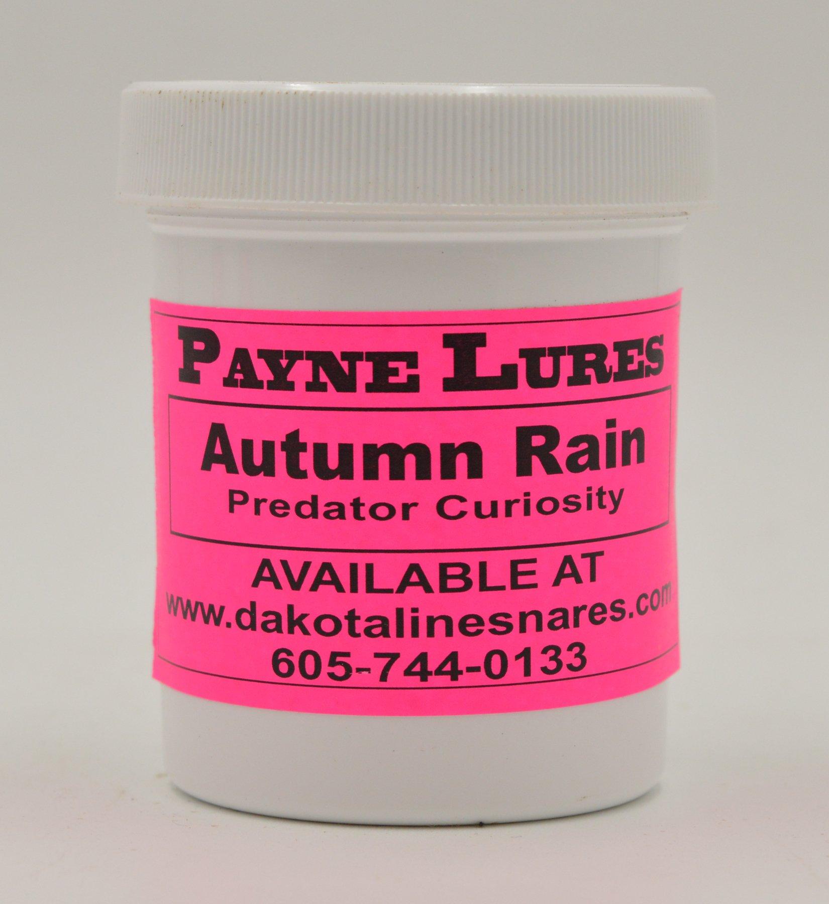1 - 4 oz. Payne AUTUMN RAIN Predator Curiosity Lure