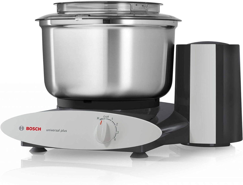 Bosch 800-Watt Universal Plus Stand Mixer (Black) with Stainless Steel Bowl