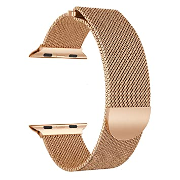 Accessory for Apple Watch 4 Halloween Hot Sale!!Kacowpper Milanese Stainless Steel Magnetic Watch...