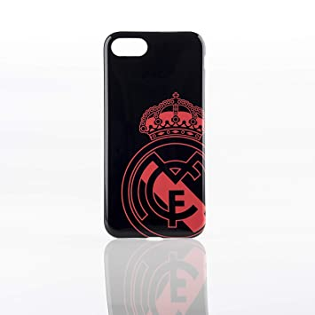 Real Madrid RMCAR086 - Carcasa para Apple iPhone 8/7, Color Negro