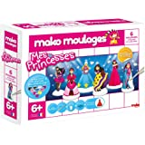 Mako Créations - 39017 - Kit de Loisirs Créatifs - Mes Princesses - 6 Pièces