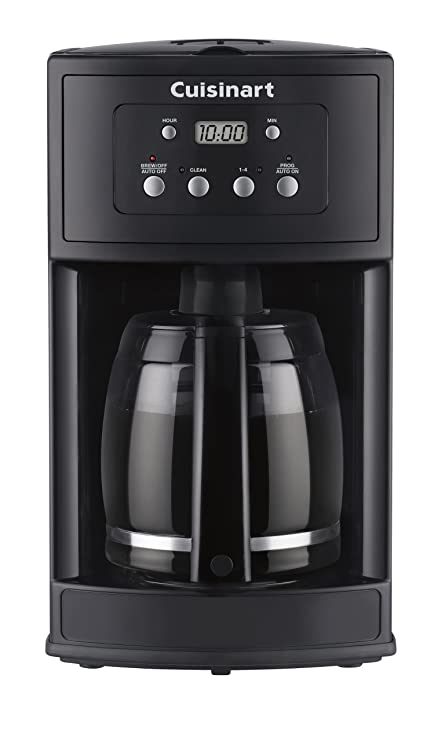 Amazoncom Cuisinart Dcc 500 Coffee Maker Osfa Black Drip