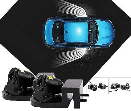 Kit proyector LED Angel iluminación puertas delanteras coche luz ...