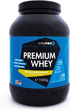 Gympro - Proteína de suero premium, polvo con 88% de ...