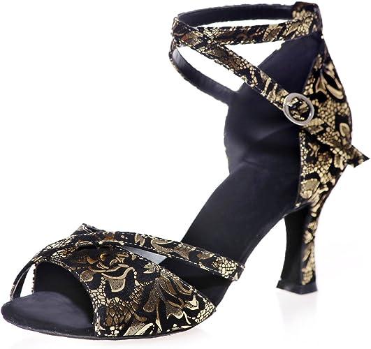 Elaboky Women's Dance Shoes Toe Low