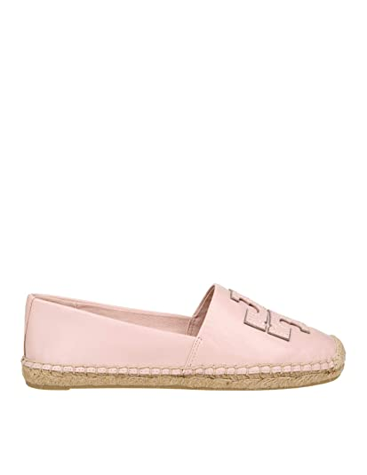 5099b1e7aec9b1 Tory Burch Women s 52035652 Pink Leather Espadrilles  Amazon.co.uk ...