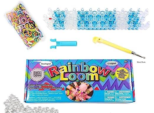 157 opinioni per Rainbow Loom / Arcobaleno Loom Crea il Tuo Bracciale Kit- elastici, Twist,