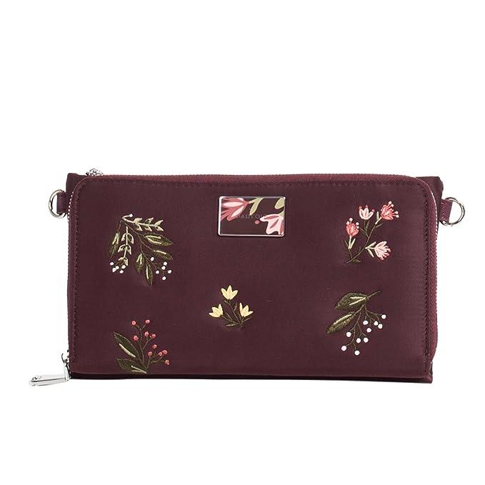 Parfois - Monedero Blossom - Mujeres - Tallas Xl - Burgundy ...