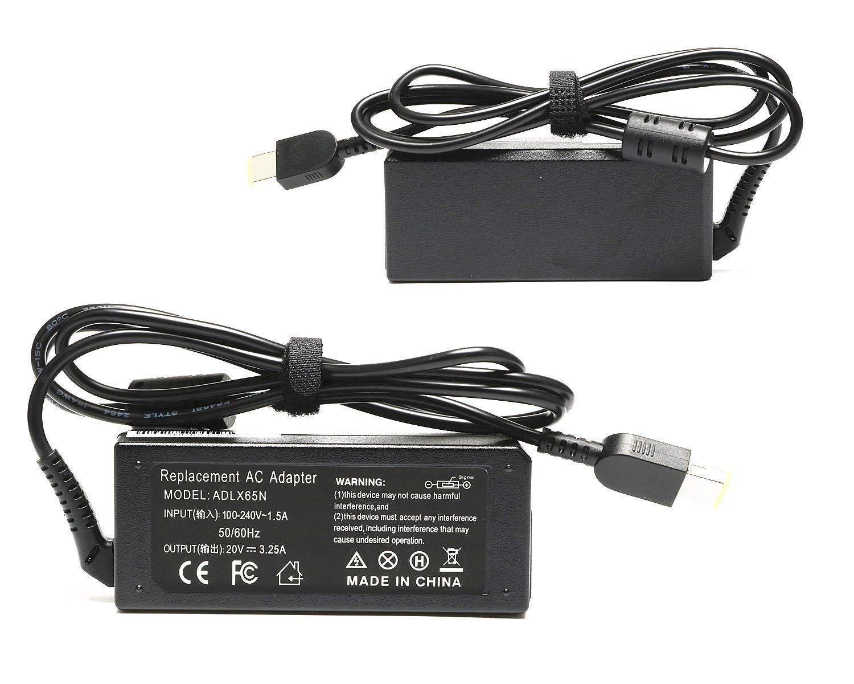 Amazon.com: 65W 20V 3.25A AC/DC Adapter USB Power Charger for Lenovo Yoga 13 2Pro 11 11s; IdeaPad 500 U530 S210 U430; Lenovo Flex 2 15 15D 14 10 G40 G50; ...