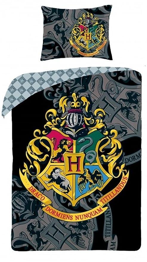 Harry Potter ropa de cama Ropa De Cama De Niño 140x200 cm (Öko-Tex ...