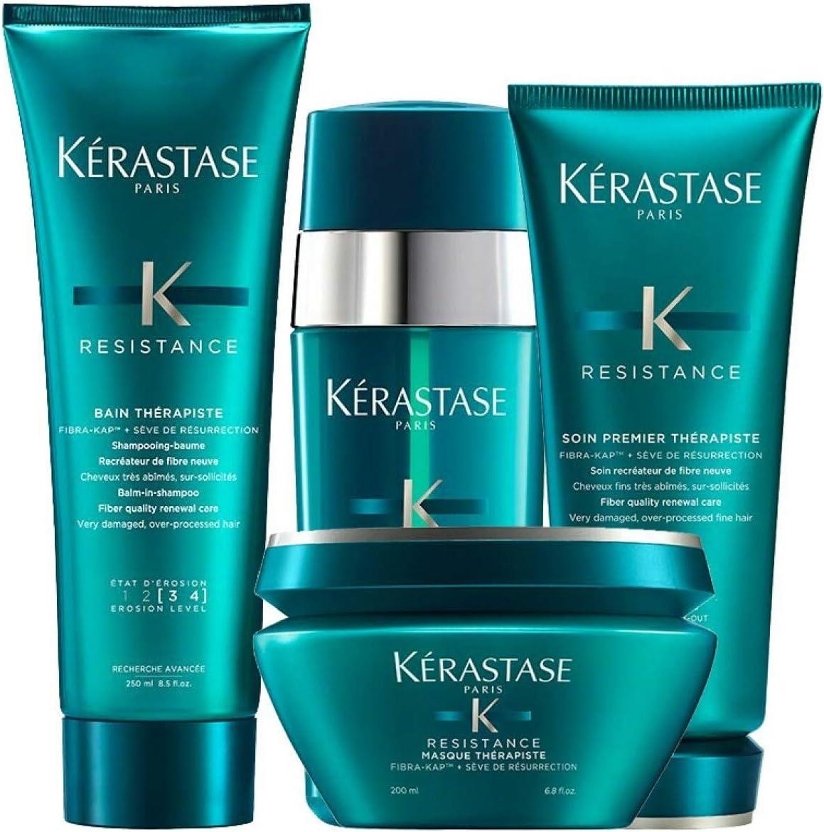Kerastase Resistance Bain Therapiste Shampoo 250ml, Masque ...
