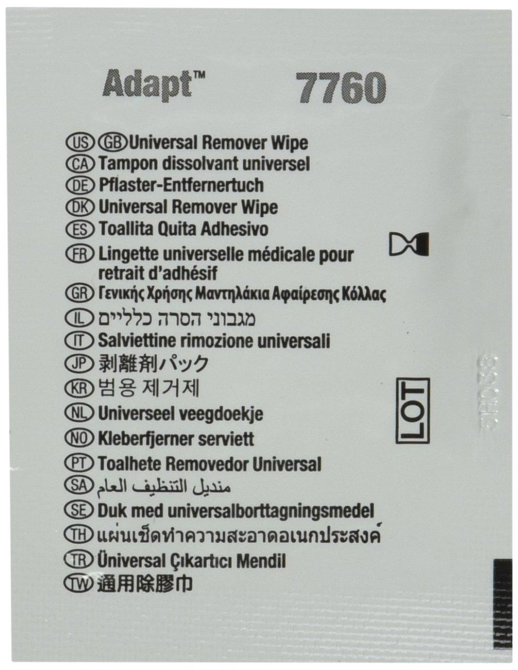 Hollister 7760 - y barrera Remover Wipes, categoría: Ostomy supplies (Pack de 50): Amazon.es: Amazon.es