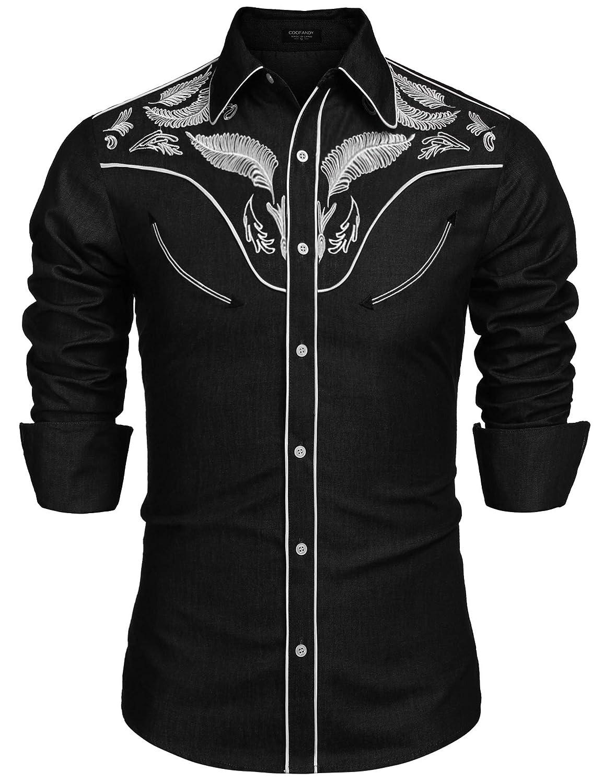 JINIDU - Camisa Casual - para Hombre