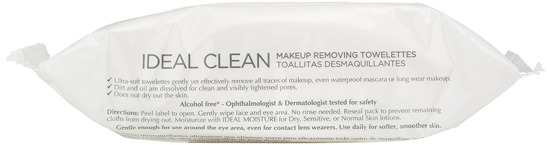LOréal Paris Ideal Clean Makeup Removing Towlettes, 25 ct.