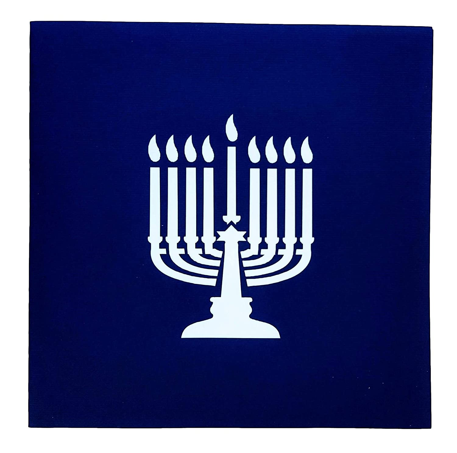 Amazon Igifts And Cards Happy Hanukkah 3d Pop Up Greeting Card