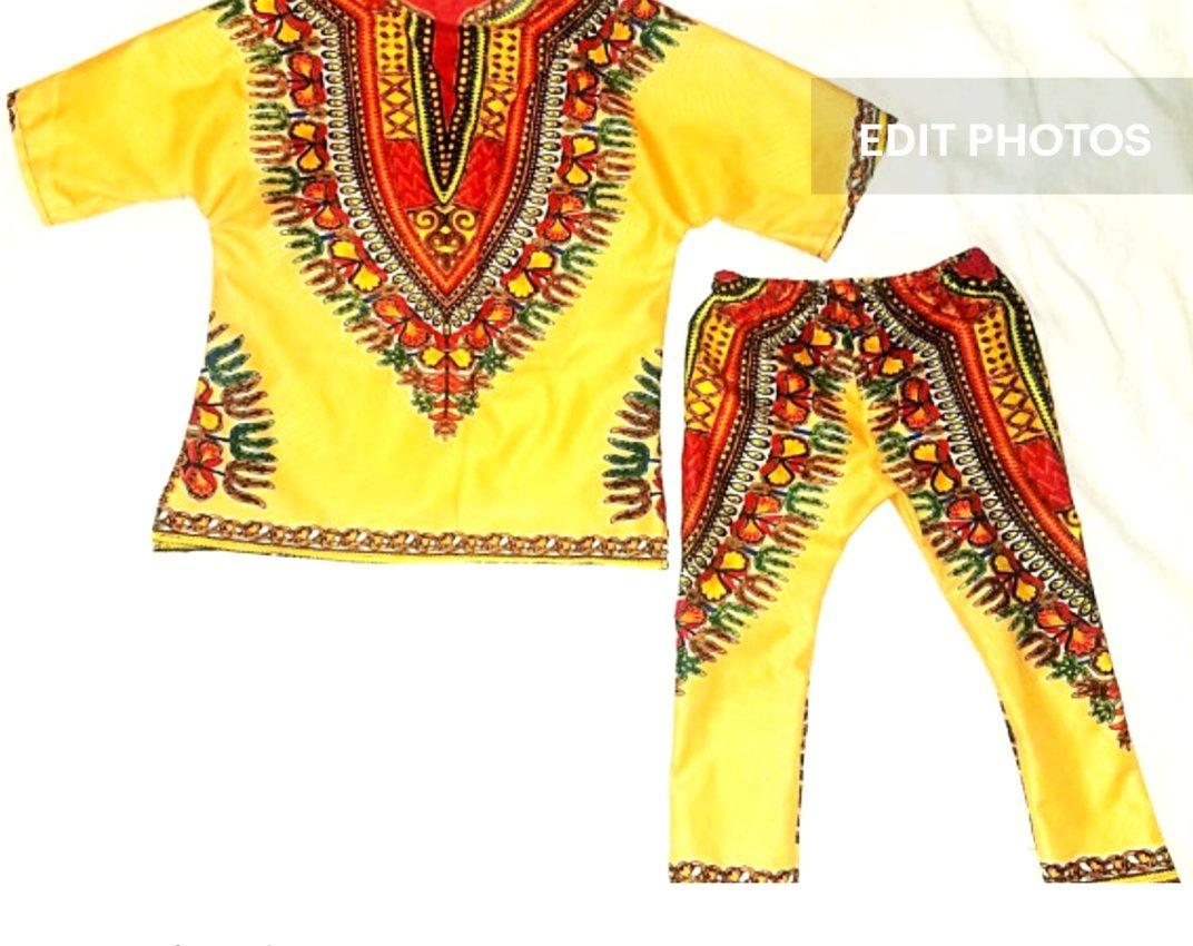 Kente oufit/African clothing/anakara clothing/toddler pant/infant African clothing/baby African clothing/newborn clothes/kente fabric/