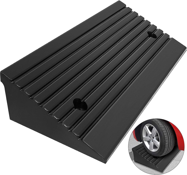 GNB Industry Curb Ramp Portable Lightweight Heavy Duty Plastic Threshold Ramp fo