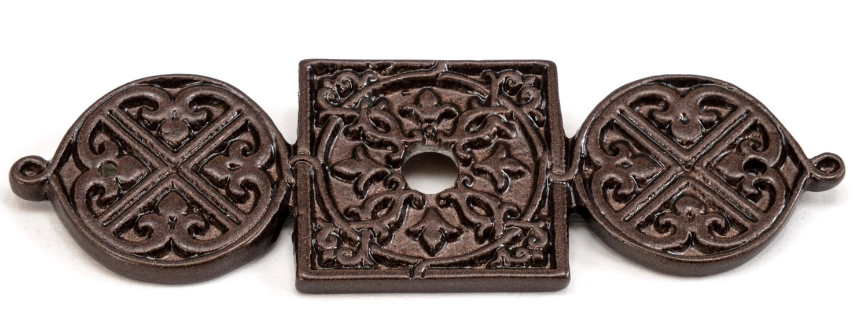 Carpe Diem Hardware 310-12 Millennium Escutcheon, Bronze