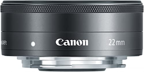 Canon EF-M 22mm f/2.0 STM Compact System Lens