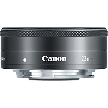 reliable Canon EF-M 22mm f2 STM