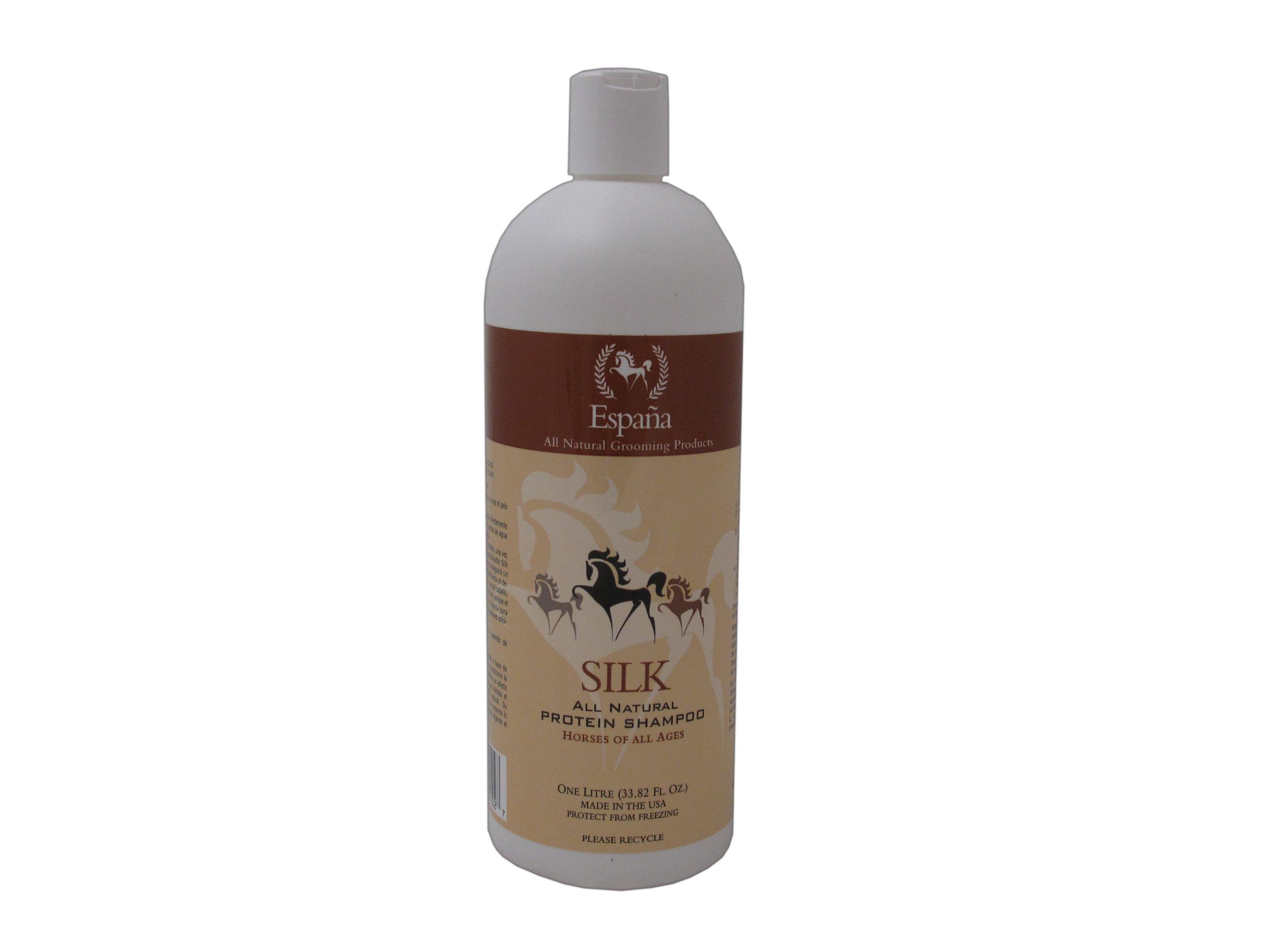 Espana Silk ESP0020E Specially Formulated Silk Protein Shampoo for Horses, 33.82-Ounce by EspanaSILK