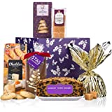 Goodies Galore - Luxury Christmas Hamper - Cake, Biscuits, Pudding, Chocolates - Virginia Hayward - Food & Drink Gift Hamper -Christmas Hampers Free UK Delivery