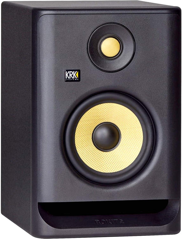 KRK Rokit RP5G4 4th Gen 5 Powered Active Studio Monitor Speaker Pair Interface