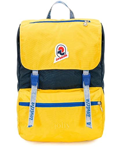 7d3709f886e Backpack INVICTA - JOLLY III VINTAGE - Yellow original - Laptop pocket –  casual 18 LT - Italian Design