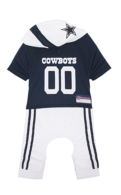 1e277120d730b Amazon.com   NFL Dallas Cowboys Pet Onesie