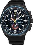 Seiko Solar Wolrd Time Chronograph SSC551P1 Mens Wristwatch With Alarm