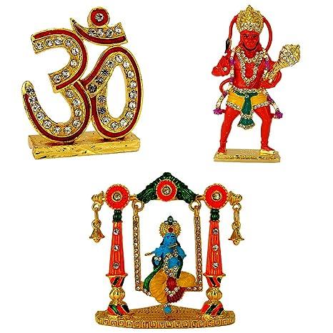 Buy Le Holy Symbol Om Lord Hanuman Bajrang Bali Lord