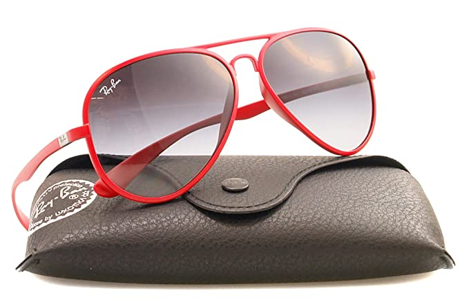 Gafas de Sol Ray-Ban RB4180 AVIATOR LITEFORCE 60188G: Amazon ...